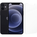 Coolblue-Apple iPhone 12 mini 64 GB Schwarz + InvisibleShield Glass Elite Screenprotector-aanbieding