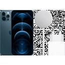 Coolblue-MagSafe-Ladepaket - Apple iPhone 12 Pro 256 GB Pazifikblau-aanbieding