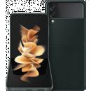 Coolblue-Samsung Galaxy Z Flip3 128GB Grün 5G + Samsung Backcover Leder Grün-aanbieding