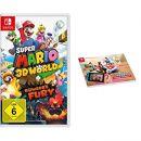 Amazon-Super Mario 3D World + Bowser's Fury [Nintendo Switch] + Mario Kart Live: Home Circuit - Notebook A4-aanbieding