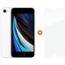 Coolblue-Apple iPhone SE 128 GB Weiß + InvisibleShield Glass Elite + Displayschutzfolie-aanbieding