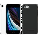 Coolblue-Apple iPhone SE 128 GB Weiß + Otterbox Symmetry Backcover Schwarz-aanbieding