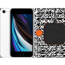 Coolblue-Apple iPhone SE 128 GB Weiß + ZENS Slim Line kabelloses Ladegerät-aanbieding