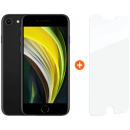 Coolblue-Apple iPhone SE 64 GB Schwarz + InvisibleShield Glass Elite Vision+ Displayschutzfolie-aanbieding