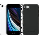 Coolblue-Apple iPhone SE 64GB Weiß + Otterbox Symmetry Backcover Schwarz-aanbieding