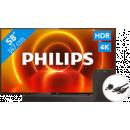 Coolblue-Philips 58PUS7805 - Ambilight + Soundbar + HDMI-Kabel-aanbieding