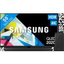 Coolblue-Samsung QLED GQ55Q80T + Soundbar-aanbieding