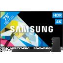 Coolblue-Samsung QLED GQ75Q80T + Soundbar-aanbieding